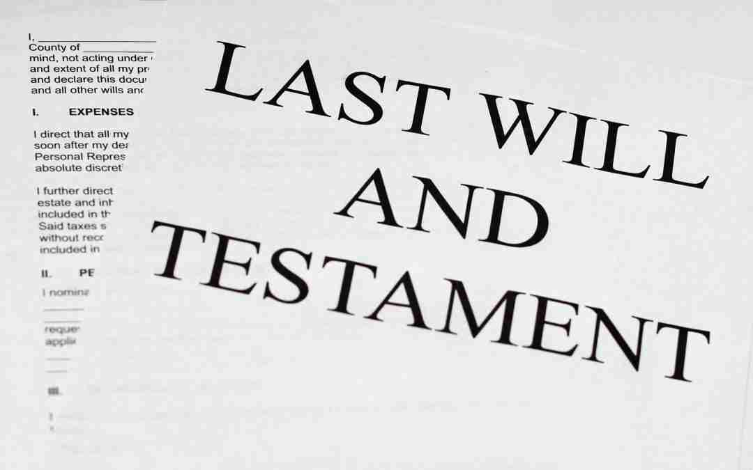 The Role of an Executor of a Will