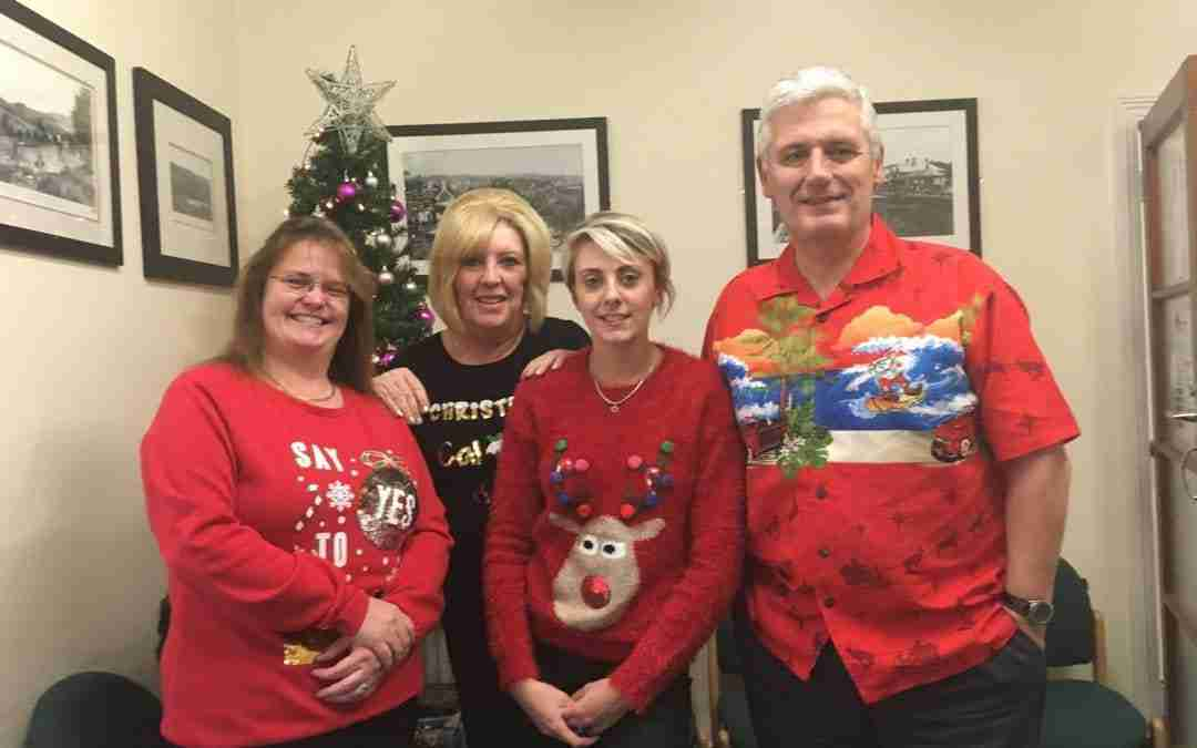 HGW Christmas Jumper Charity Day