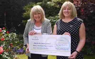 HGW Solicitors makes £3,000 Donation to Macmillan Caring Locally